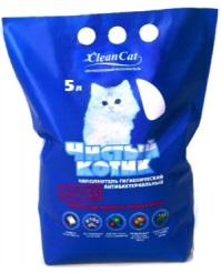 Наполнитель 'Чистый котик' 5 л. (силикагель)